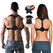COR619 Back Posture Corrector Brace - For Men and For Women. Posture Support, Remedies Bad Posture, Medical Posture Corrector for Thoracic Kyphosis...