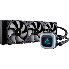 Corsair Hydro Series H150i PRO RGB 360mm Radiator Triple 120mm ML Series PWM Fans Advanced RGB Lighting Liquid CPU Cooler (CW-9060031-WW)