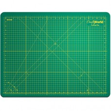 """Crafty World Professional Self-Healing Double Sided Rotary Cutting Mat, Long Lasting Thick Non-Slip Mat 18"""" x 24"""", 12"""" x 18"""", and 9"""" x 12"""" for Quil..."""