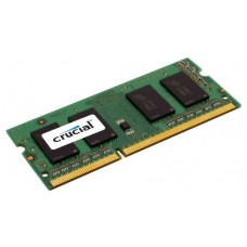Crucial 4GB DDR3 1333 MT/s (PC3-10600) CL9 SODIMM 204-Pin CT51264BC1339