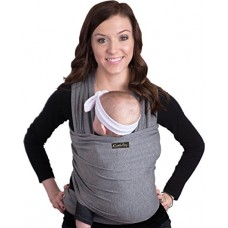 Baby Wrap - Ergo Baby Carrier by CuddleBug - Available in 9 Colors - Baby Sling, Baby Wrap Carrier, Nursing Cover and Baby Slings and Wraps for Inf...
