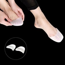 DealMux 1 Pair White Silicone Gel Toe Caps Ballet Pointe Dance Shoe Cushions Protector for Women