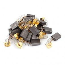 DealMux 10 Pairs 40x17x13x6mm Carbon Brushes Power Tool for Electric Hammer Drill Motor