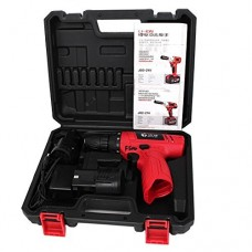 DealMux AC100-240V US Plug 12V Electric Rechargeable Battery Cordless Screwdriver Drill Power Tool