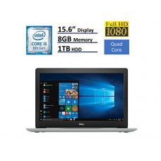 2018 Dell Inspiron 15 5000 Flagship 15.6 inch Full HD Touchscreen Backlit Keyboard Laptop PC, Intel Core i5-8250U Quad-Core, 8GB DDR4, 1TB HDD, DVD...
