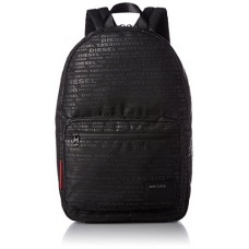 Diesel Men's Discover Backpack, allover logo, One Size