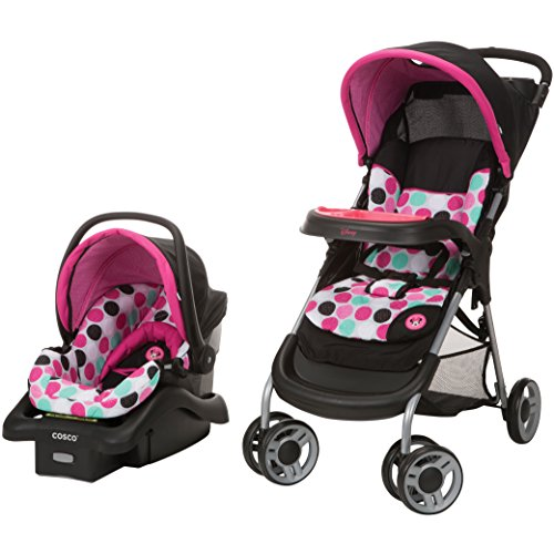 Disney Baby Minnie Mouse Lift & Stroll Plus Travel System ...