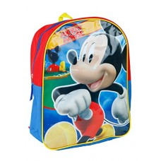 Fast Forward Little Boys' Mickey Mouse Backpack, Multi, One Size