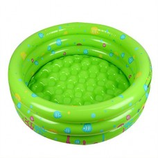 Inflatable Swimming Bathing Pool for Baby Infant Toddler, Ocean Ball Water Toys Storage, Children Interior Outdoor Garden Party Decor, 2.6 ft Round...