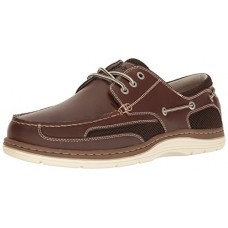 Dockers Men's Lakeport Oxford, Red/Brown, 9.5 M US