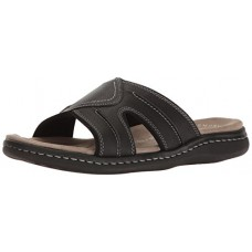 Dockers Men's Sunland Slide Sandal, Black, 10 M US
