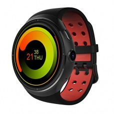 Docooler THOR Watch Phone Heart Rate Smart Bluetooth Sport GPS 3G/2G 1GB RAM + 16GB ROM Android 5.1 Metal Frame MP3 MP4 WiFi 2MP Camera WCDMA MTK65...