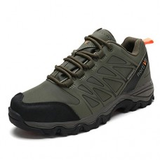 DREAM PAIRS Men's Nortiv8 160489-M Army Green Black Orange insulated Waterproof Work Hiking Boots Size 9.5 M US