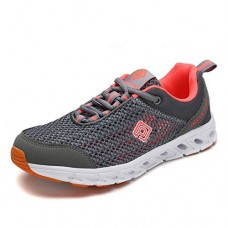 DREAM PAIRS Women's 160712-2-W Lt.Grey Coral Athletic Slip On Water Shoes - 7.5 M US