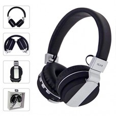 Dreamyth Stereo Audio Blutooth 4.0 Earphone Auriculares Bluetooth Headset Wireless Headphones For IPhone (Black)
