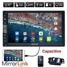 New Brand Upgarde Version 7 Inch Capacitive Touch Screen Audio (Mirror Link for GPS Android Phone) Double 2 Din Bluetooth Car Stereo In Dash Video ...
