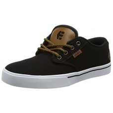 Etnies Mens Men's Jameson 2 Eco Skate Shoe, Black Raw, 8 Medium US