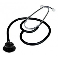 Ever Ready First Aid Dual Head Stethoscope, Black