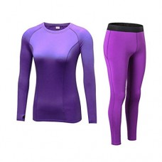 Fanceey Women Cashmere Thick Velvet Thermal Underwear Spring Winter Thermo Sporting Set