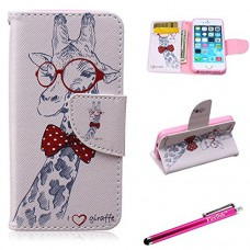 iPhone 6 Plus Case, Firefish iPhone 6 Plus Wallet Case [Bumper] [Kickstand] PU Leather with TPU Double Protection Flap Cover for Apple iPhone 6 Plu...