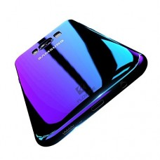 Wireless Charger Samsung Galaxy S8 PLUS Case, FLOVEME Slim Fit Gradual Colorful Gradient Change Color Ultra Thin Lightweight Electroplating Bumper ...