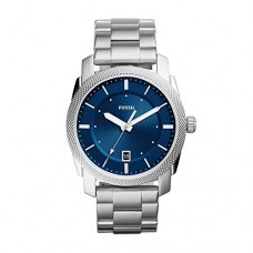Fossil Men's 'Machine' Quartz Stainless Steel Casual Watch, Color:Silver-Toned (Model: FS5340)