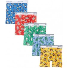 Fruit of the Loom Little Boys'  Boxer Brief , Multi, 2T/3T, (Pack of 5)