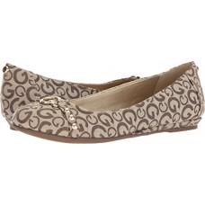 G by GUESS Women's Finnish2 Taupe Logo Fabric 10 M US