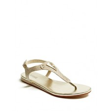 Guess Factory Women's Carmela T-Strap Sandals
