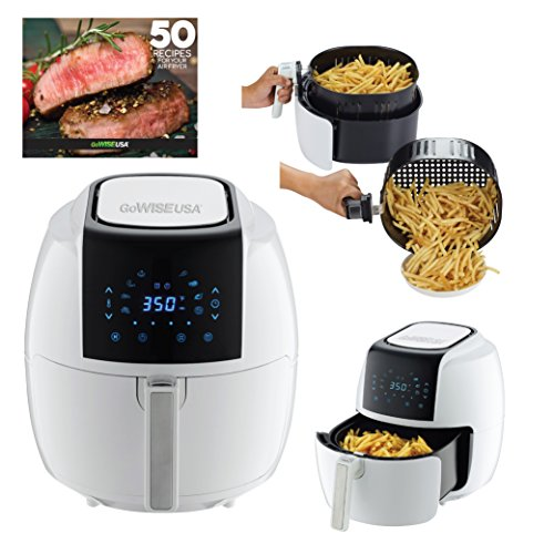 Gowise Usa Gw22735 5 8 Quarts 8 In 1 Electric Air Fryer Xl 50