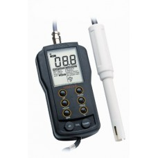 Hanna Instruments HI 9813-6N Waterproof pH/EC/TDS Temperature Meter Clean and Calibration Check for Growers, 0 to 50 Degree C, 9V Battery