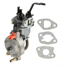 Harbot Dual Fuel LPG NG Conversion Carburetor for 2KW GX160 168F Manual Choke Water Pump Engine