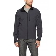 Hawke & Co Men's Softshell Jacket, Graphite, X-Large
