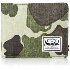 Herschel Supply Co. Roy Rfid Wallet, Frog Camo, One Size