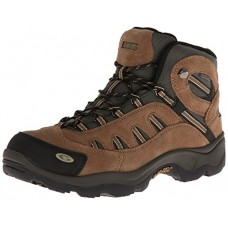 Hi-Tec Men's Bandera Mid Waterproof Hiking Boot, Bone/Brown/Mustard, 10.5 W US