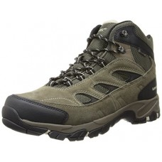 Hi-Tec Men's Logan Waterproof Hiking Boot,Smokey Brown/Olive/Snow,9.5 M US