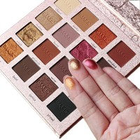 Best Pro Eyeshadow Palette Makeup - Matte + Shimmer 16 Colors - High Pigmented - Professional Vegan Nudes Warm Natural Bronze Neutral Smokey Cosmet...