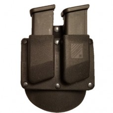 Double Paddle Tactical Magazine Pouch Thermo Molded 9mm / .40 Glock (Rotative) (RP113GR)