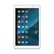 """Huawei MediaPad T1 10.0 Quad Core 9.6"""" Android (KitKat) +EMUI Tablet 8GB, Silver/White (US Warranty)"""