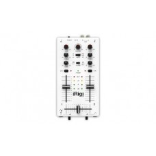 IK Multimedia iRig Mix DJ-style mixer for smartphones and tablets