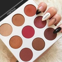 Big Promotion!Pro Eyeshadow Palette,ZYooh Cosmetic Matte Eye Shadow Makeup Palette Shimmer Set 9 Colors (B)