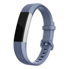 Fitbit Alta HR Bands, iMOMO Classic Accessory Alta HR and Alta Band Replacement Wristband for Fitbit Alta 2016 / Fitbit Alta HR,(Small- Grey)