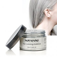 INST Hair Wax Temporary Hair Color Wax 4.23oz MOFAJANG Natural Matte Hairstyle Coloring Easy Operate Free Styles Hair Dye Wax for Party,Masquerade,...