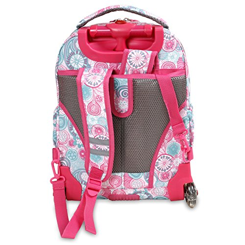 035e629ca3 J World New York Lollipop Kids  Rolling Backpack with Lunch Bag ...