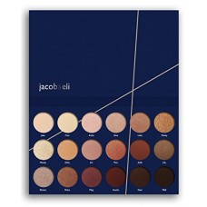 18 Super Pigmented High Quality - Top Influencer Professional Eyeshadow Palette all finishes, 5 Matte + 9 Shimmer + 4 Duochrome - Buttery Soft, Cre...