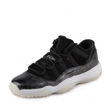 Jordan Air 11 Retro Low BG Barons Youth Lifestyle Sneakers New Black - 7
