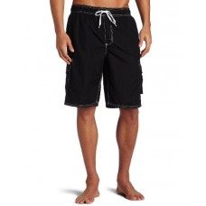 Kanu Surf Men's Barracuda Trunks, Black, Large