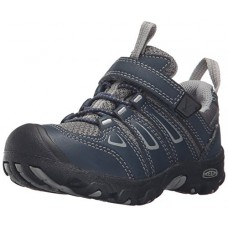 KEEN Oakridge Low Hiking Shoe (Toddler/Little Kid), Midnight Navy/Neutral Gray, 13 M US Little Kid