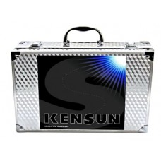 "Kensun HID Xenon Conversion Kit ""All Bulb Sizes and Colors"" with ""Slim"" Digital Ballasts - H4 (HB2) (9003) Lo/Hi Halogen (Low-Beam Xenon/ High-Beam..."