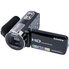 Digital Camera Camcorders Kimire HD Recorder 1080P 24 MP 16X Powerful Digital Zoom Video Camcorder 2.7 Inch LCD Stabilization With 270 Degree Rotat...